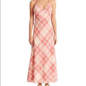 NWOT polo Ralph Lauren plaid maxi dress